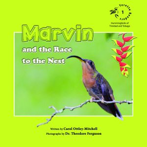 Marvin and the Race to the Nest Children's book by Carol Mitchell