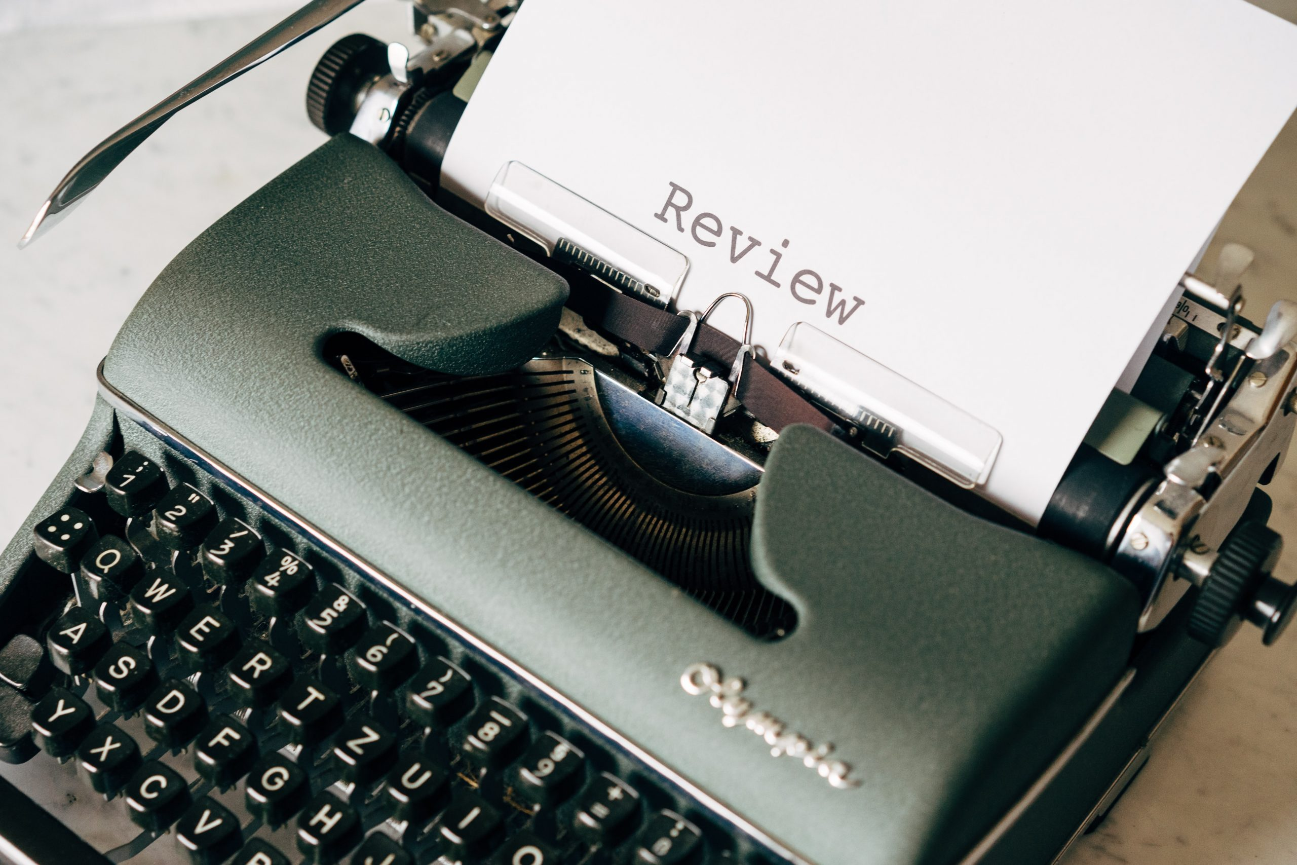 Review on typewriter Markus WInkler